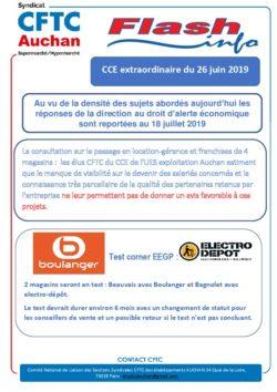 CCE AUCHAN EXPLOITATION 26 JUIN 2019