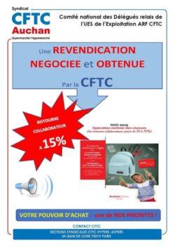 Ristourne RDC NAO 2019