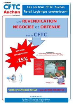 Ristourne RDC Logistique 2019