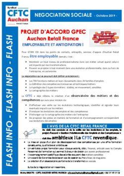 NEGOCIATION SOCIALE : PROJET D'ACCORD GPEC ARF