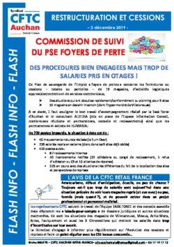 Commission de suivi PSE Sphinx Foyers de pertes