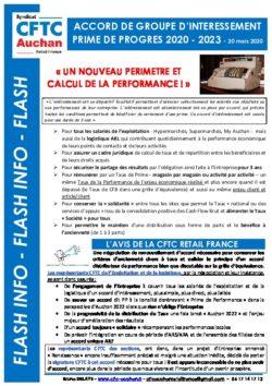 Tract Renouvellement Accord Prime de Progrès 2020-2023