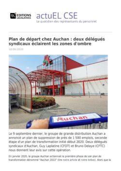 article Editions Législatives Auchan 2022 SAV
