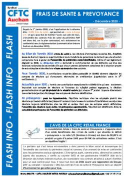 FRAIS DE SANTE & PREVOYANCE : BILAN 2019 ET PERSPECTIVES