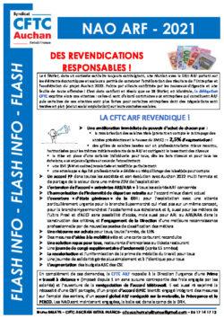 REVENDICATIONS CFTC ARF NAO 2021