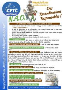 N.A.O 2021 . Des revendications responsables