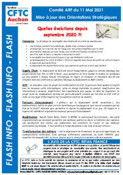 ORIENTATIONS STRATEGIQUES COMITE ARF 2021