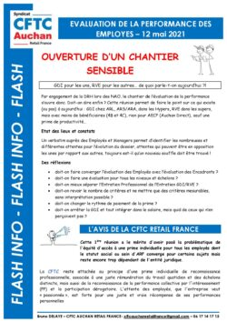 OUVERTURE CHANTIER PERFORMANCE