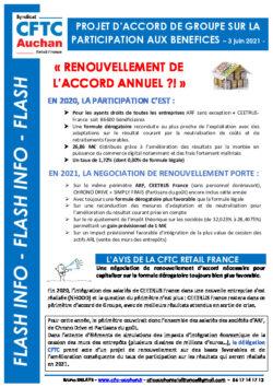 PARITAIRE PARTICIPATION 2021
